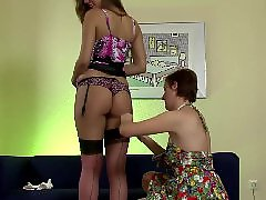 Lesbian, Stockings, British
