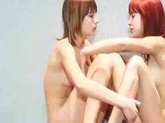 Shying, Shy lesbians, Shy lesbian, Lesbian shy, On floor, Girlfriend lesbian