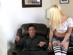 Interracial anal, Old, Young