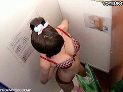 Massage, Japanese, Strip, Schoolgirl