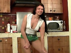 بعدپfun, Pantyhose tits, Nipple, Mature stockings, Mature kitchen, Mature in kitchen