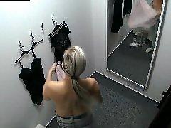 Nice, Ωριμη lingerie, Voyeur blonde, Voyeur blond, Fittings, Fitness