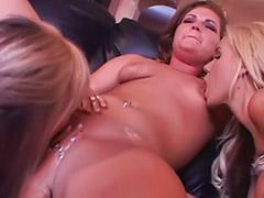 Tit lick lesbian, Tender vagina, Tender lesbian, Pierced big tits, Pierced tits, Stockings licking lesbians