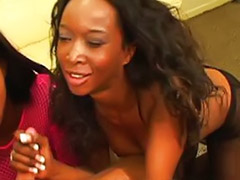 Sucks black, Threesome pantyhose, Willie, Pantyhose threesomes, Pantyhose interracial, Pantyhose ebony