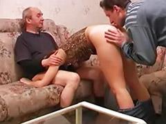 Nailed milf, Amazing threesome