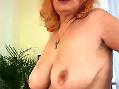Mature, Hairy, Old, Granny