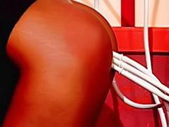 항문 스팽킹, 항문관장, 삽입자위, 관장관장, 가슴스팽킹