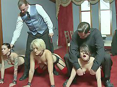 Party slave, Slave party, Filthy, Big party, Ared, Are