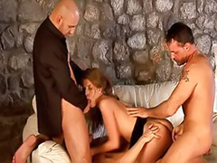 X gold, Threesome girl crazy, Private gold, Private threesome, Privat gold, Daddy threesome