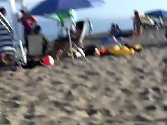 Beach, Teen blowjob