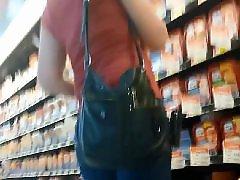 Jeans i, Inşat, At kız, سكسat, Voyeur milf, Tight