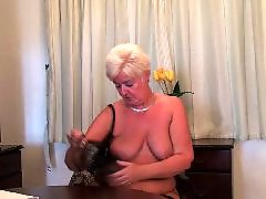 Vibratoring, Vibrator, Vibrate, Milf plays, Mature stockings, Mature bbw chubby