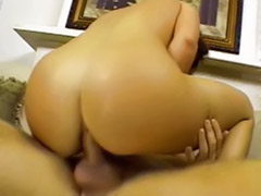 With ass, Pie anal, Swallows cum, She cums, Masturbation with cum, Anal deepthroat