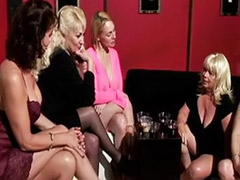 Anal blonde mature, Wank on tits, Wanking cum on tits, Strap-on femdom, Strap stockings, Strap on stockings
