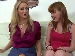 Julia ann, Teen threesome