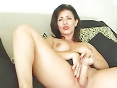 Riding dildo, Solo milf, Solo hd