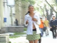 Teen, Public, Flashing, Compilation