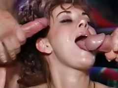 Two tits, Two tit, Two milf, Tit fuck threesome, Public group, Public guy