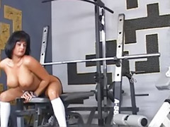 Public naked, Solo gym, Naked tits, Naked public, Gym tits, Gym solo