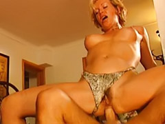 German anal, Mature anal