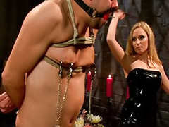 Strap-on femdom, Strap on couple, Starr, Latex strap-on, Latex strap on, Latex sex
