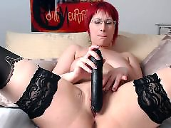 W-girls dildo, Toy and fucking, Redhead sex, Stockings toying, Stocking toy fuck, Sex hot