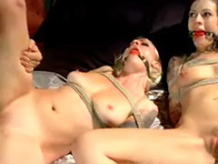 Threesome blonde deepthroat, Threesome blonde black, Threesome domination, Tattoo threesome, Spanking masturbation, Spanking blowjobs