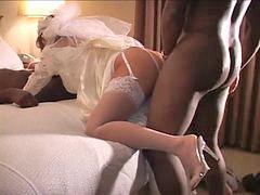 زن قحبه, سفید, عروسی, شب عروسی