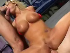 Tit swallow, Tit anal swallow, Threesome swallow, Threesome girl anal, Threesome gagging, Threesome big tits anal