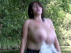 German, Big tits, Nipples