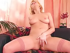 Stockings solo blonde, Stocking solo masturbation, Stocking solo, Stocking girl solo masturbation, She girl, Solo stockings