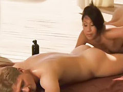 Oiled, Sex-japan, Sex massager, Massage a couple, Oiling, Erotic x