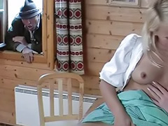 Threesome cumshot, Pierced german, Oral cumshots, Facial fest, German threesome, German tattoo