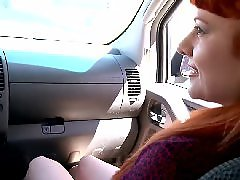 Wood fuck, Redhead راس, Redhead facial, Latin facial, In the wood, Hitchhiking