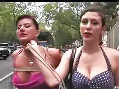 Public lesbians, Public lesbian, Public lesbians outdoor, Public bondage, Lesbians public, Lesbians outdoors
