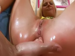 Play anal, Blonde beauty, Beautiful-blonde, Beauti anal, Anal playing, Anal play