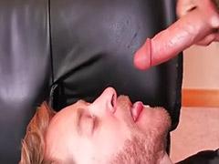 Big cock gay facial, Ethan, Gay facial cum, Cum facial gay