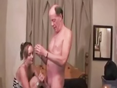 Visiting, Visiters, Hookers, Grandpas, Hooker blowjob, Cuffed