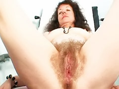 X clinic, X-clinic, Visiting, Visiters, Toy extrem, Mature with hairy