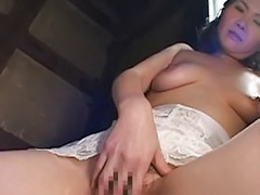 Japanese, Mature solo, Lingerie, Japanese masturbation