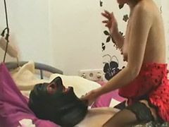 Pierced german, Stocking handjob, Milf german, Homemade coupl, Pierced milf, Stockings handjob