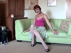 Pov her, Milf plays, Mature stockings, Her pov, Redding, Red stockings
