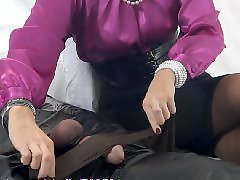 Stocking handjob, Pantyhose, Milf handjob, Pantyhose handjob, Stockings handjob