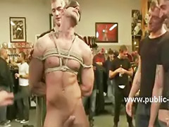 Rope gay, Rope, Sex in group, Hunks gay, Gangbang gay, Gangbang bound