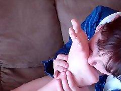 치어리더, 스타킹풋, 스타킹페티쉬, 스타킹빨기, 스타킹발가락, 발가락빨기