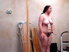 Slave, Homemade, Spanking, Fat
