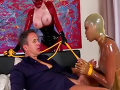 Threesome latex, Latex threesome, Latex anal, Anal latex
