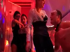 Wet party, Wet hot, Public sex stockings, Public stocking, Public party, Public cfnm