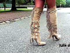Upskirt, Boots, Cute