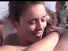 Sucking blowjob, Nudists beach, Nudist, Hot brunette, Frenche, Voyeur beach